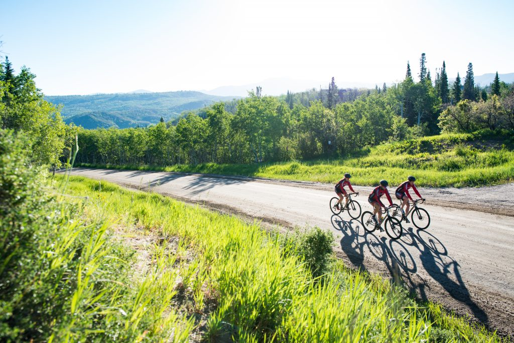 Tour de Steamboat is excited to offer a 100-mile gravel route this year.  Riders will head out of town on pavement over Rabbit Ears Pass before  turning right ...